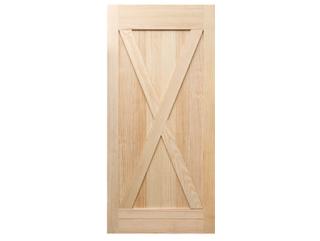 X-Brace Clear Barn Door