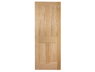 Colonial 4-Panel Raised Panel Door