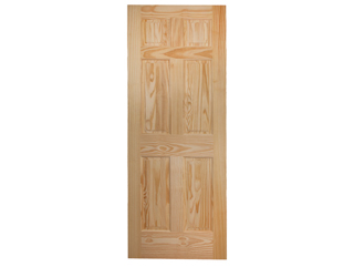 Colonial 6-Panel Raised Panel Door