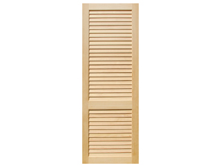 Plantation Louver Clear