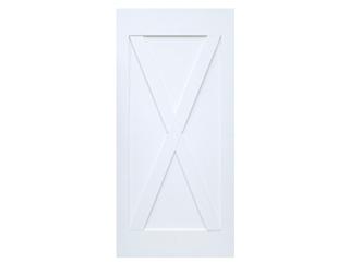 X-Brace Primed Barn Door